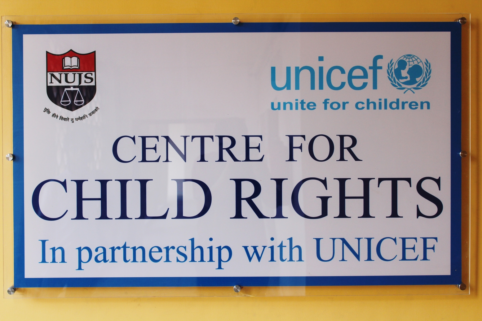 NUJS UNICEF Child Rights Centre