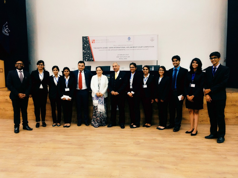 NUJS wins nationals of Leiden Sarin Air Law Moot