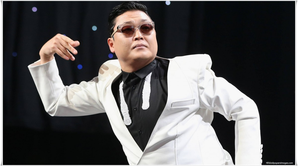 South Korean singer PSY Park performs in NUJS Kolkata